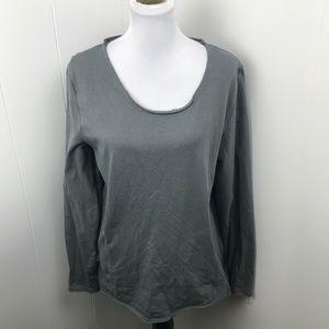 Asos Gray Sweatshirt With Side Zippers